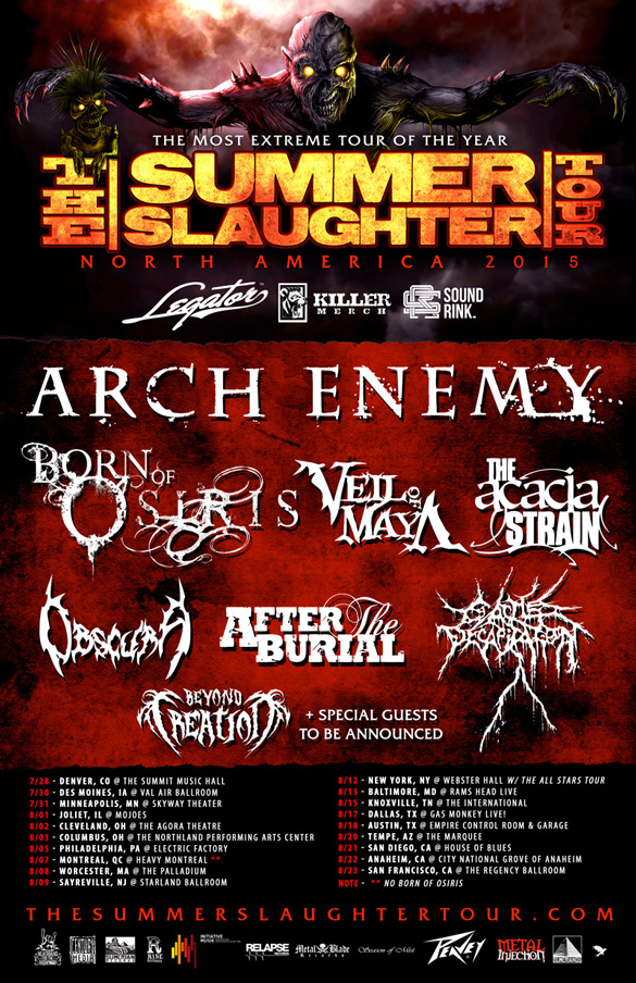 The Summer Slaughter Tour 2015