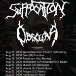 Suffocation Tour 2006