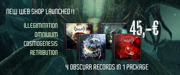 New Obscura Web Shop