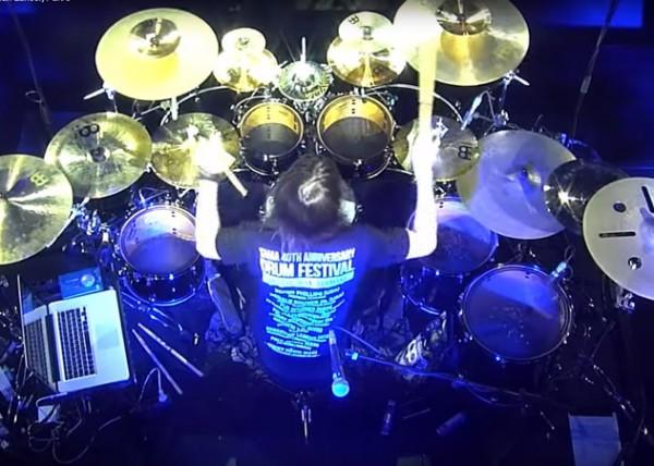 Sebastian Lanser / Drum solo at TAMA's 40th Anniversary Drum Festival