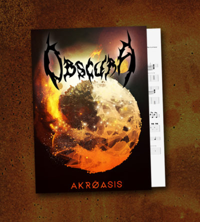Obscura | Akroasis Guitar Tablature Book