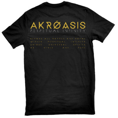 Obscura - Akroasis Perpetual infinity TS FRONT