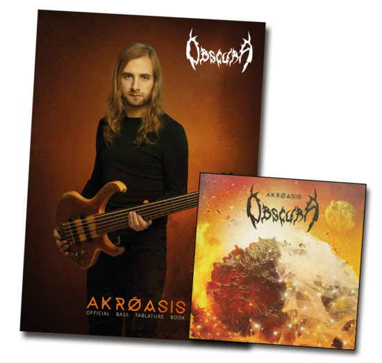 Akroasis Bass Tablature Book and CD Bundle