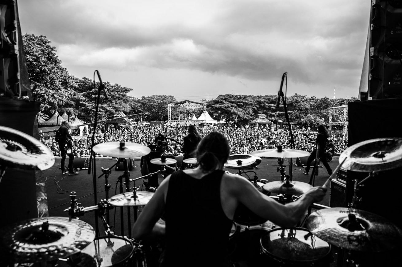 Obscura live at Hammersonic Festival, Jakarta 04/17/2016
