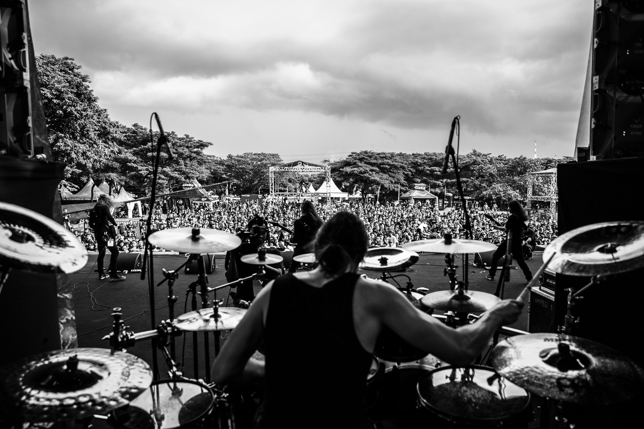 Obscura Live At Hammersonic Festival Jakarta