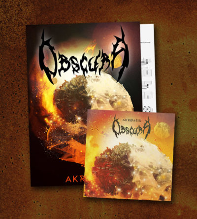 Obscura | Akroasis Guitar Tablature Book & CD Package