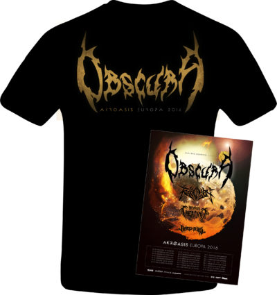 Obscura Akroasis Europa TS Back, Poster