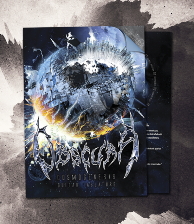 Obscura | Cosmogenesis - Guitar Tablature Book