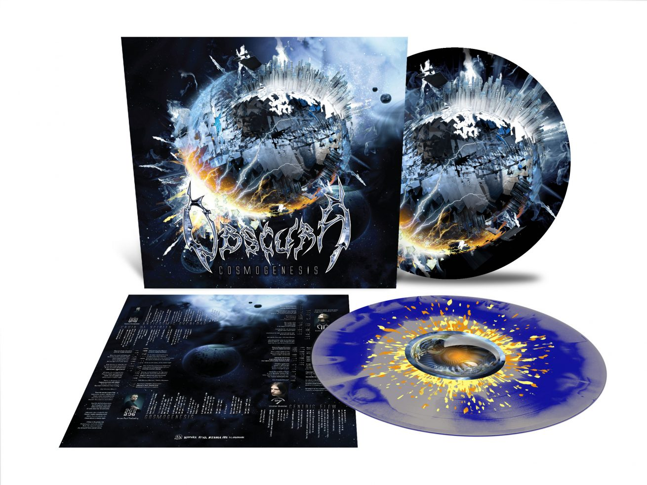 Obscura | Cosmogenesis LP Deluxe Vinyl + Slipmat