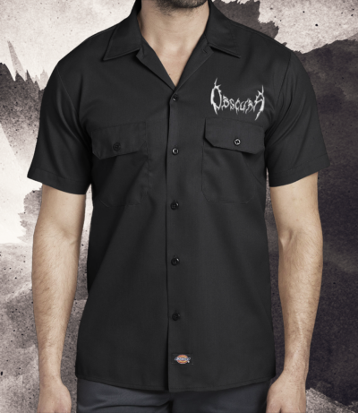 Obscura | Silver Logo Workershirt