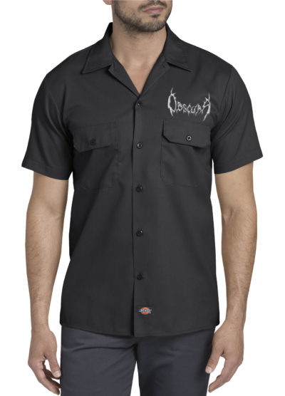 Obscura | DICKIES Work Shirt w/ Silver Logo