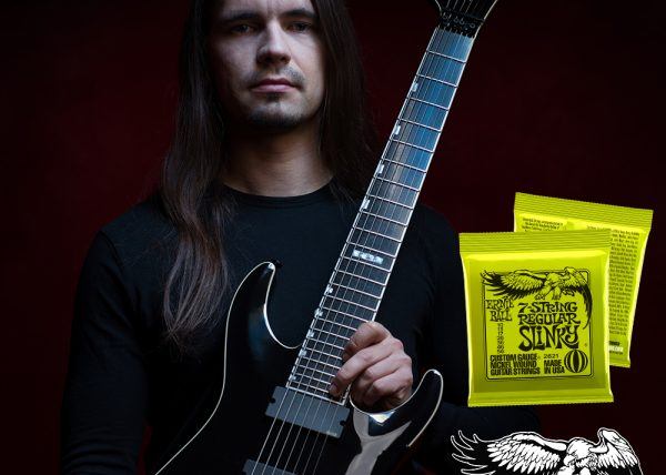 OBSCURA | Steffen Kummerer joins the ERNIE BALL Artist Family