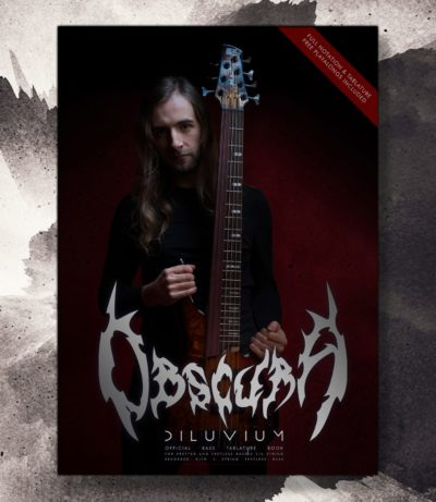 Obscura | Diluvium Bass Tablature Book