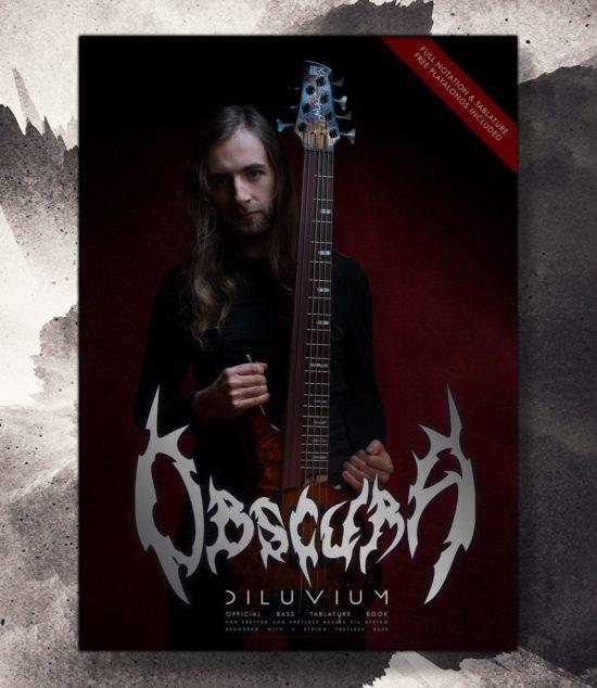 Obscura | Diluvium Bass Tablature Book