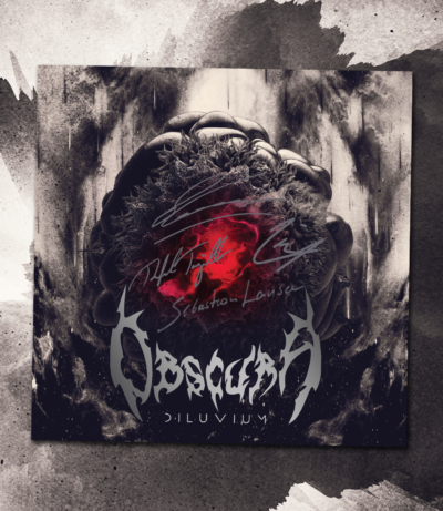 Obscura | Diluvium signed CD