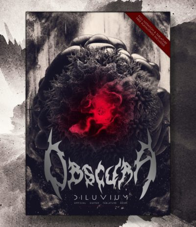 Obscura | Diluvium Guitar Tablature Book