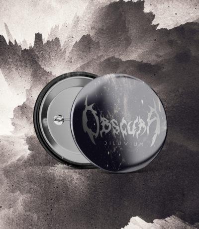 Obscura | Diluvium - Logo Pin