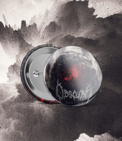 Obscura | Diluvium - Artwork Pin
