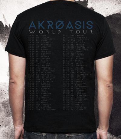 Obscura | Akroasis World Tour TS