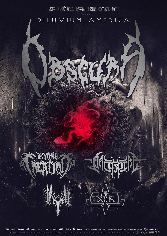 Obscura | Diluvium Amerika Tour 2018