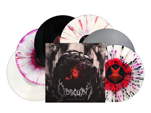 Obscura | Diluvium Vinyl Editions