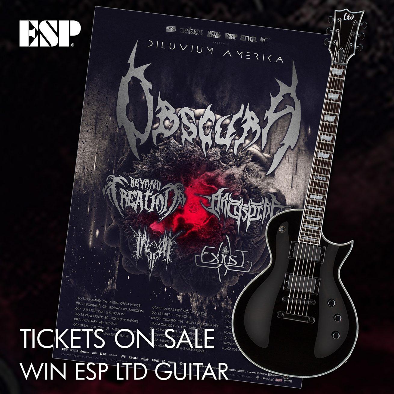Obscura | Diluvium Amerika - Free ESP Guitar