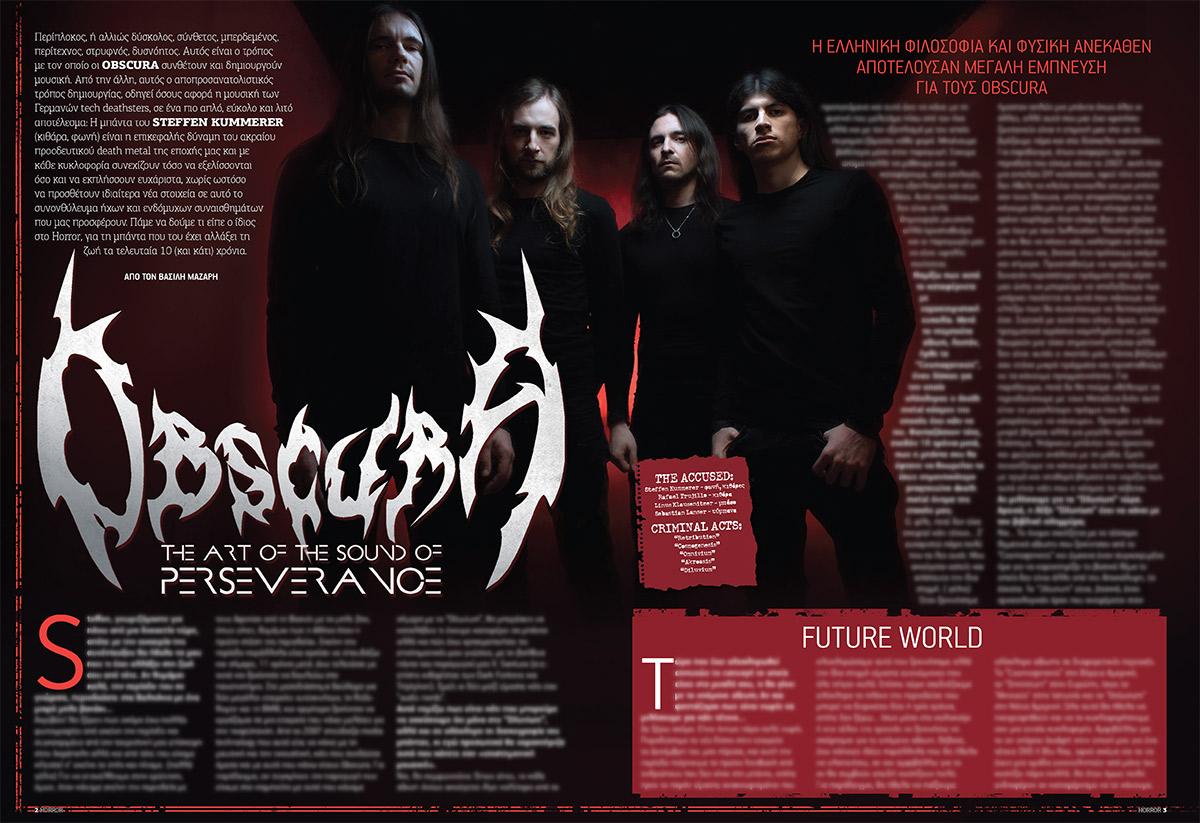Obscura | Diluvium Metal Hammer Greece