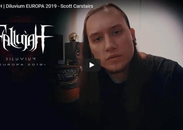 FALLUJAH | Diluvium EUROPA 2019 - Scott Carstairs
