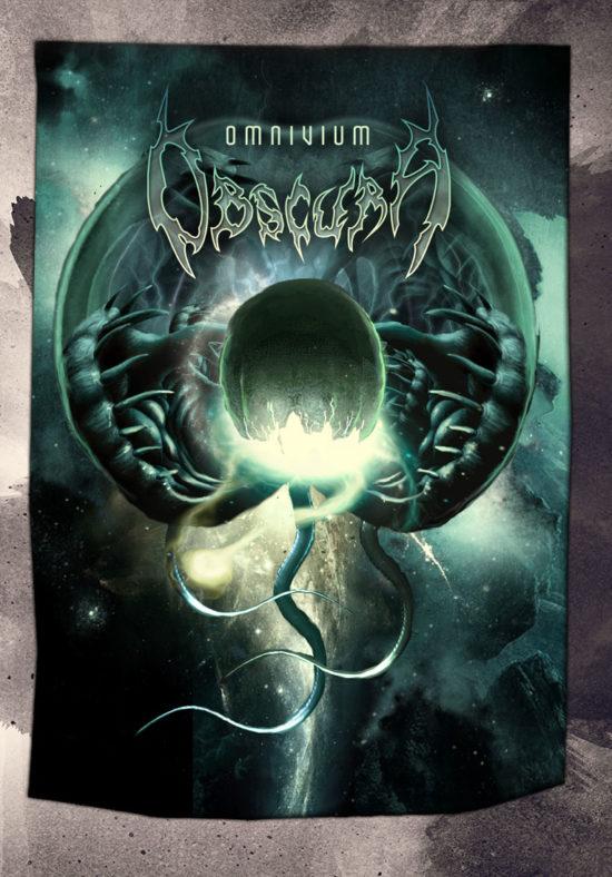 Obscura | Omnivium Posterflag