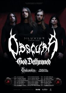 Obscura | EU Headlining Tour 2020