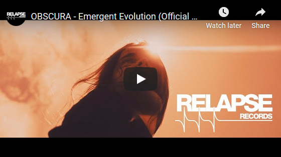 Obscura | Emergent Evolution Music Video