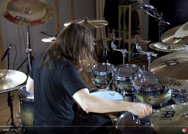 "OBSCURA | Share ""An Epilogue to Infinity"" Drum Playthrough Video"