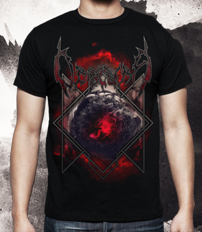 Obscura | Diluvium Wolrd Tour TS Front