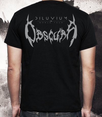 Obscura | Diluvium Wolrd Tour TS Back
