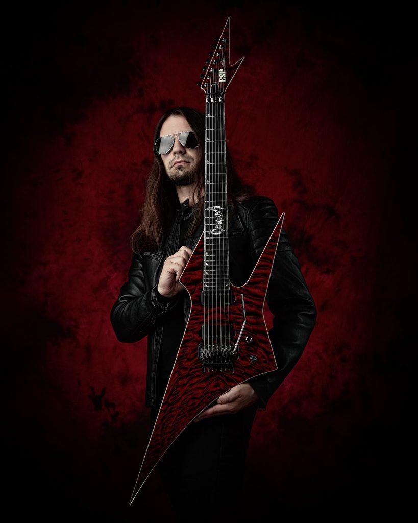 OBSCURA | ESP Custom Guitar Steffen Kummerer