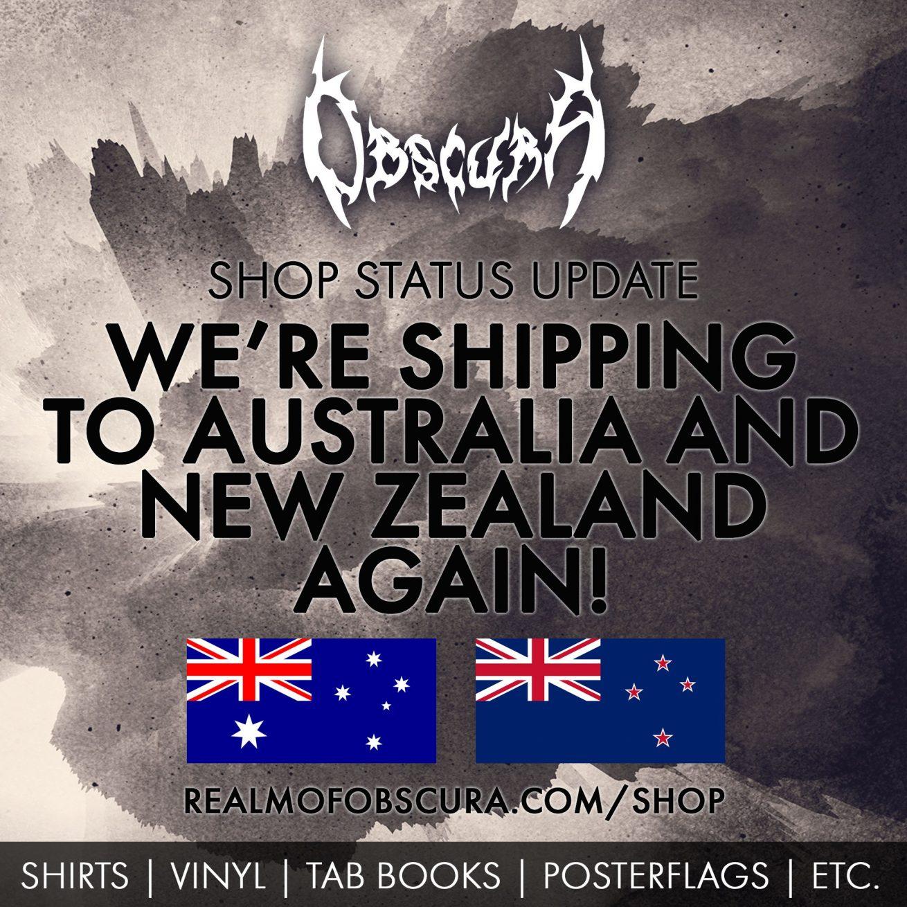 Obscura | Australia & New Zealand Shipping