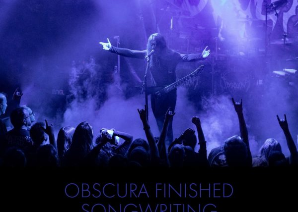 OBSCURA - finished songwriting and enter the studio for sixth album soon!