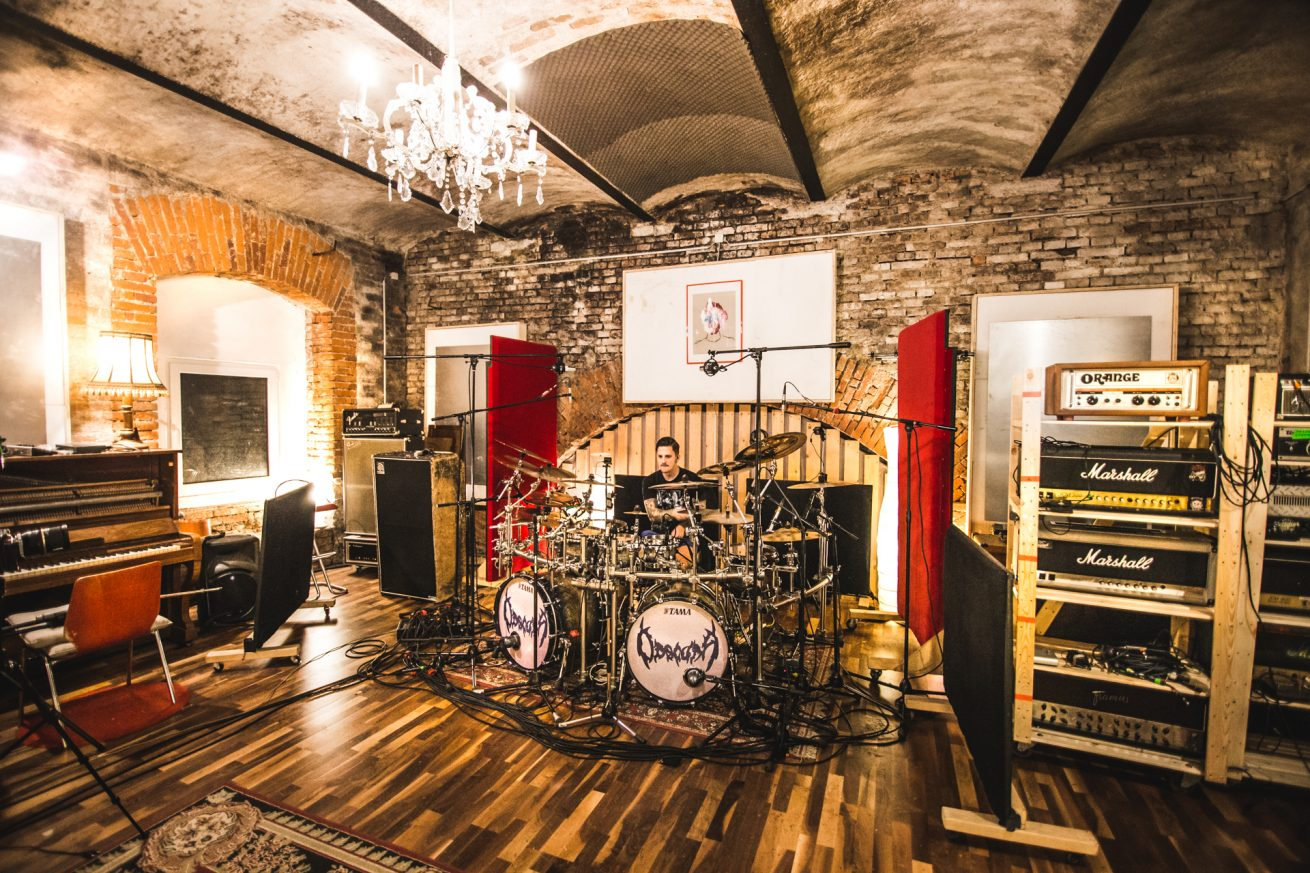 Obscura | recording drums