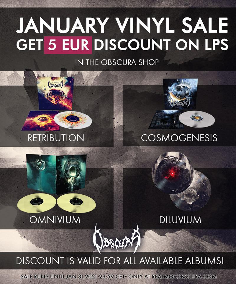 OBSCURA | Vinyl Sale