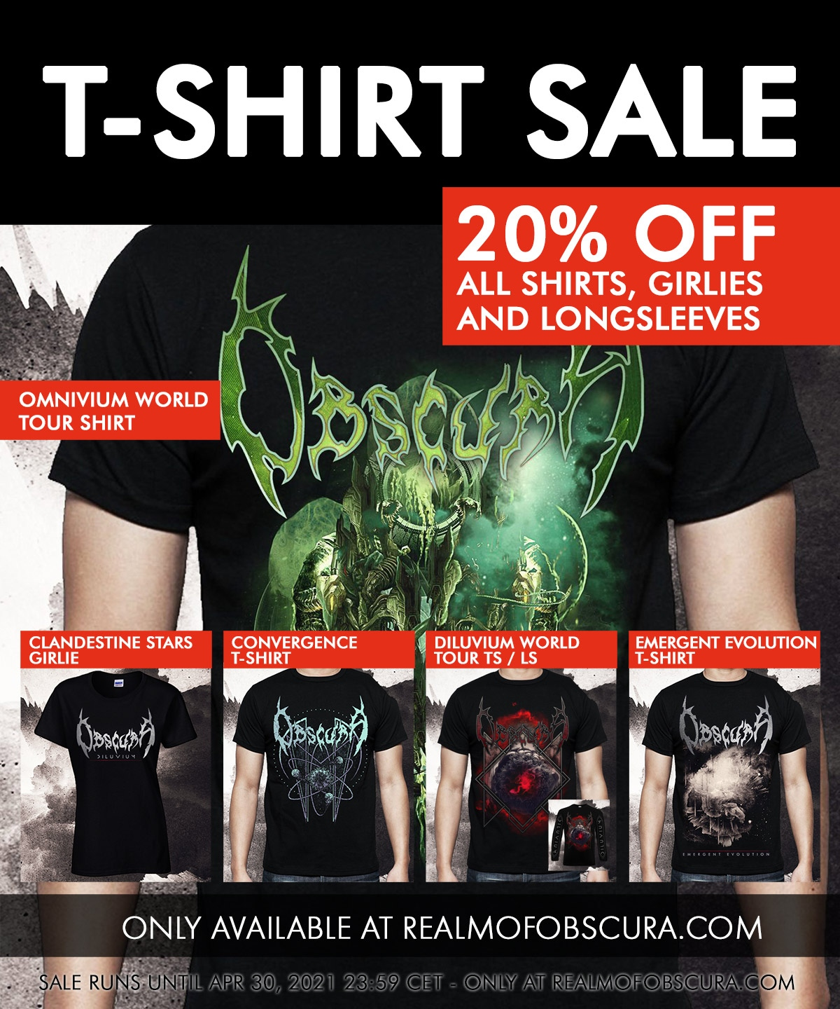 OBSCURA | Shirt Sale